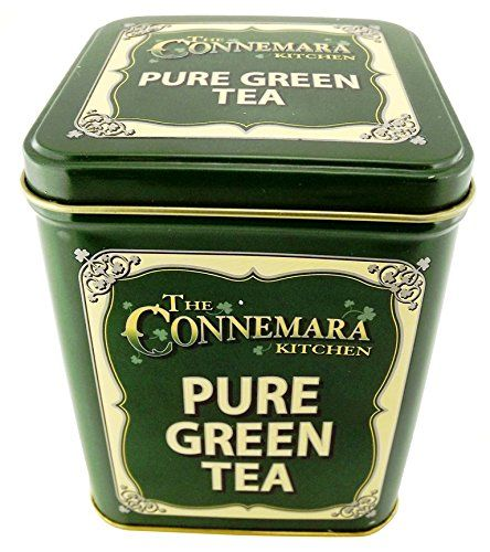 Buy The Connemara Kitchen Pure Green Tea In Vintage style Green Tin - Topvintagestyle.com ✓ FREE DELIVERY possible on eligible purchases