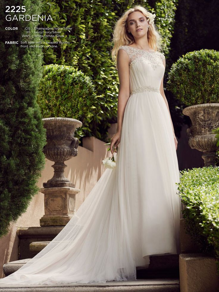 Casablanca Bridal 2225 Gardenia Wedding Dress