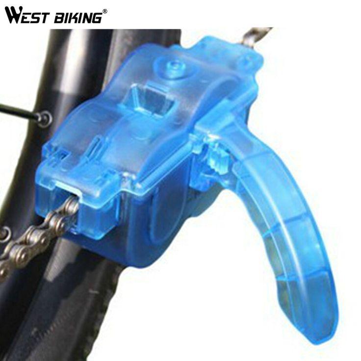 OUEST VÉLO Nettoyeur De Chaîne de Bicyclette De Réparation Vélo Machine Brosses Laveur Lavage Outil VTT Vtt Nettoyeur de Chaîne Outil Kits