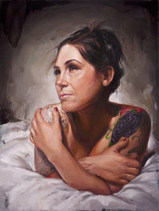 One of my favorite tattoo artists, Kim Saigh.  By Shawn Barber.