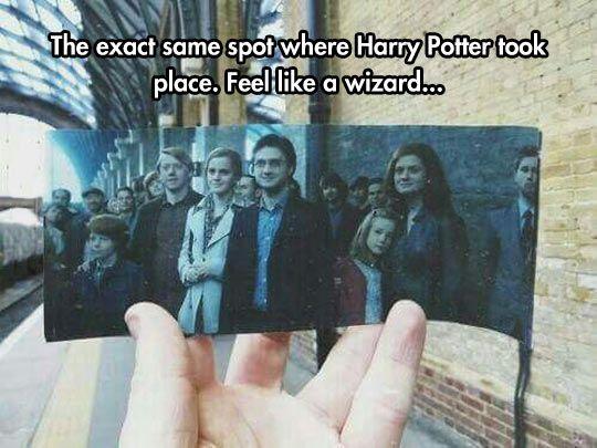 Still a muggle picture, lol!
