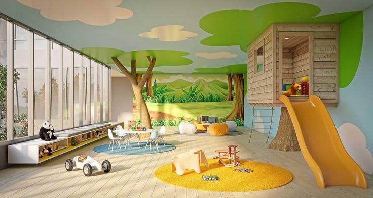 #Kids #recreation #area #dining #table #residence #lobby #office #commercial #owner #interior #decor #chair #boss #room #Noida #delhi #shimla Finii Designs & Interiors Pvt. Ltd. Call Us @9968295809