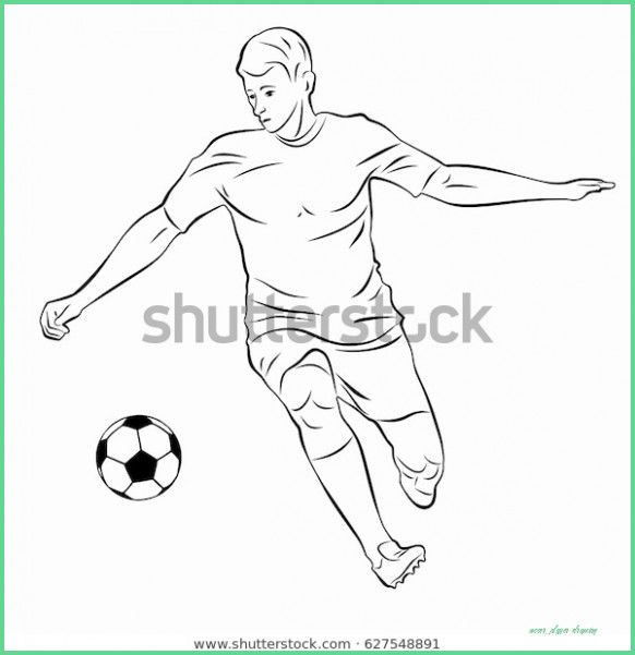 Pin On Soccer Drawings