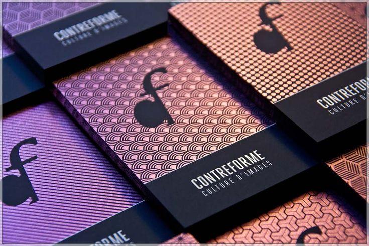 Contreforme visit cards