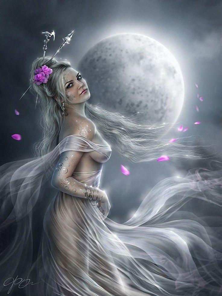 Helga Helleborus Art Fantasy Girl Fantasy Art