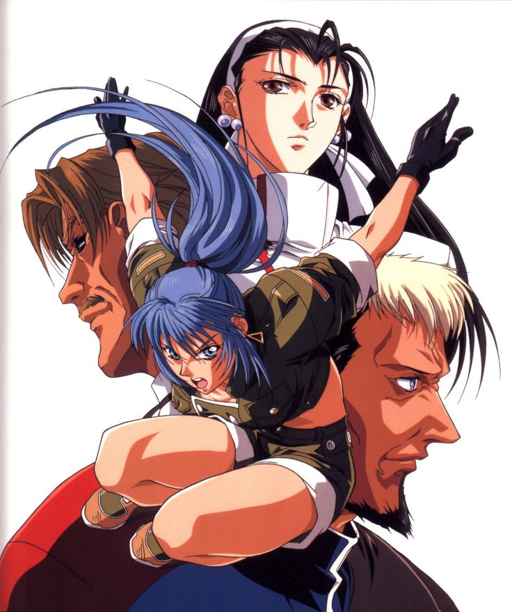 The King of Fighters '96 KoF96 King of fighters, Anime