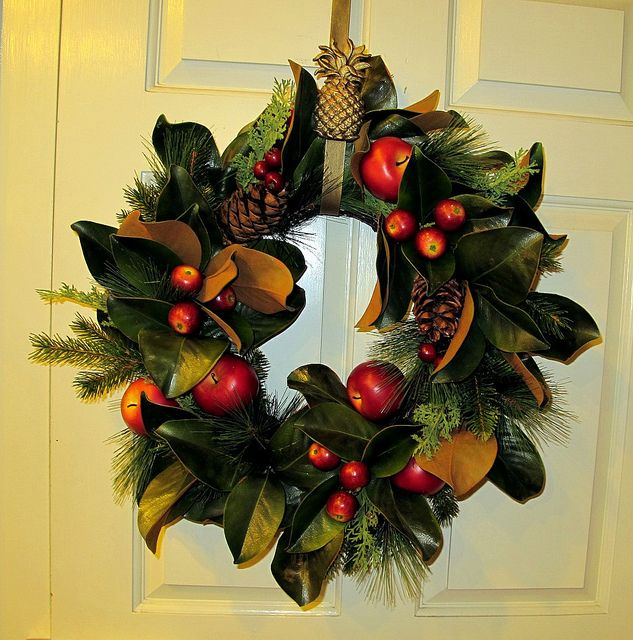 20 Best Colonial Williamsburg Wreath Images On Pinterest