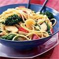 Asian Linguine with Chicken - Good Housekeeping