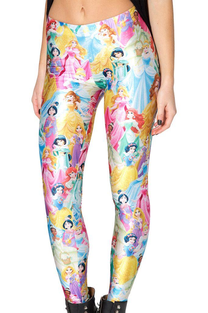 Disney Princess Leggings by Black Milk Clothing $85AUD   Black Milk Faves    Pinterest   Mütze, Damen mütze and Strickmütze