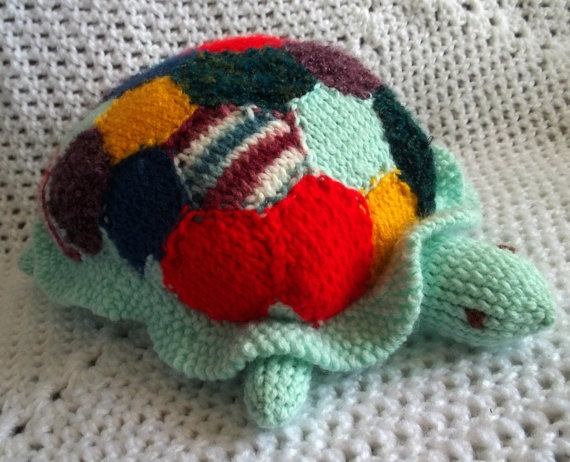 Stuffed Animal Turtle Toy Family Heirloom by ToyBoxflameOfsilver, $45 ...