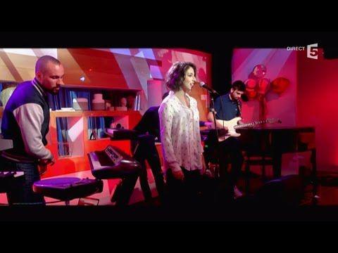 """Synapson et Anna Kova, en LIVE avec """"All in you"""" - C à vous - 23/11/2015 - YouTube"""