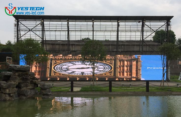 Aging test for 150sqms P5.9 outdoor led display in YESTECH, products details http://www.yes-led.com/en/products.html?pageIndex=2&proTypeName=Magic+Stage&proTypeID=164392