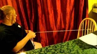 how to make a handfasting cord, via YouTube