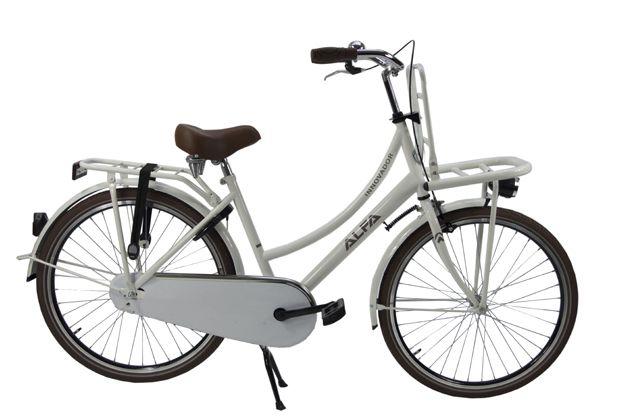 Transportfiets  Alfa Innovador Meisjesfiets,Damesfiets 26 inch / 46cm – 1 SP Wit