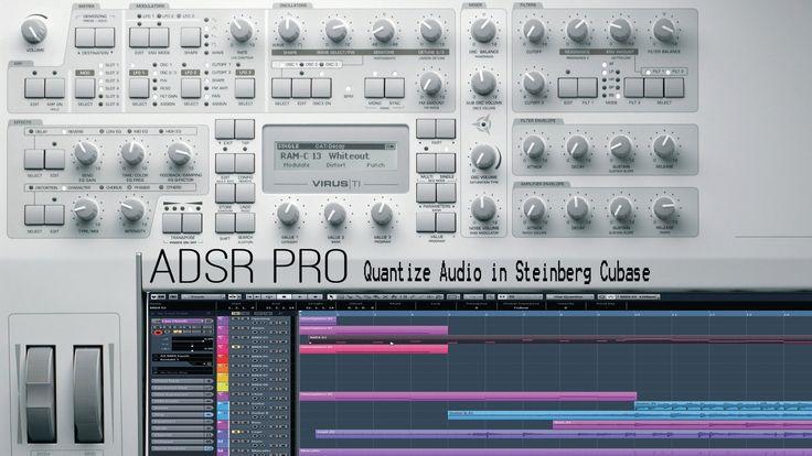 Quantize audio tracks in Steinberg Cubase 5 and creating quantize templates