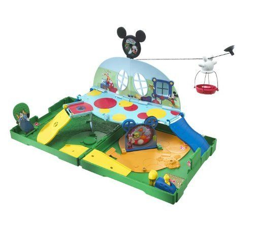 Matchbox Mickey Mouse Clubhouse Pop Up Adventure Playset by Mattel. $26.99. From the Manufacturer                Matchbox Mickey Mouse Clubhouse Pop Up Adventure Playset: This playset features kid's most-loved television heroes and their imaginative adventures and play themes. Features cool pop up opening mechanism and moving features. Moms love the stow-and-go portability. Comes with one vehicle and two accessories. Not for use with some Matchbox vehicles.                ...
