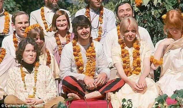 Ringo with Prudence Farrow