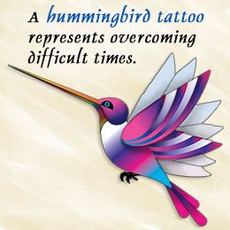 Hummingbird tattoo meanings...I'd get Flip from Pocahontas.
