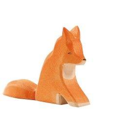 Ostheimer - Wooden Sitting Fox