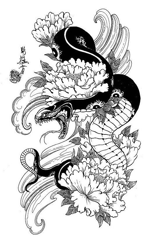 make the snake a phoenix