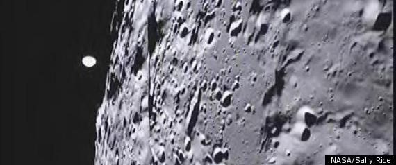 NASA Moon Photos Snapped By Fourth-Graders In Montana. Don't thank scientists for it. Fourth-graders from Emily Dickinson Elementary School in Bozeman, Mont., directed the spacecraft to snap pictures as part of a project headed by Sally Ride, the first American woman in space.