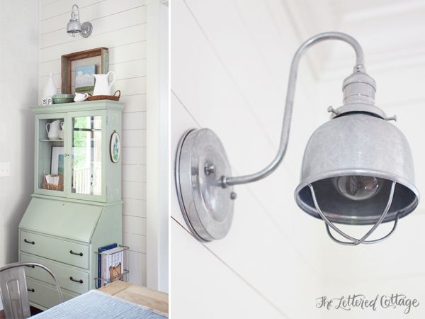 Galvanized Lights For The Dining Room Barn Light Electric