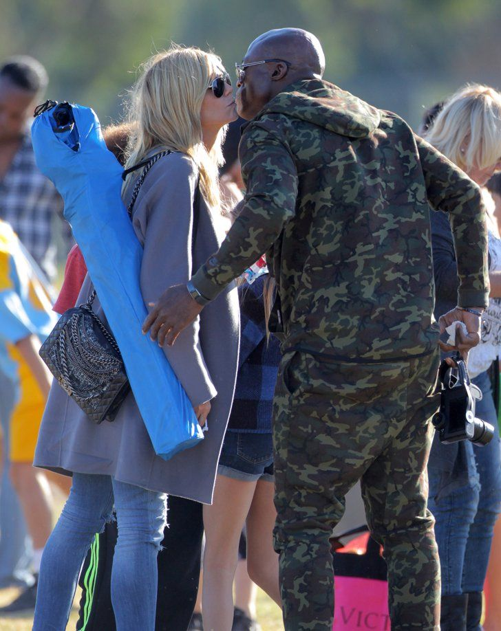 Pin for Later: Celebrities Who Prove You Can Be Friends With an Ex Seal and Heidi Klum