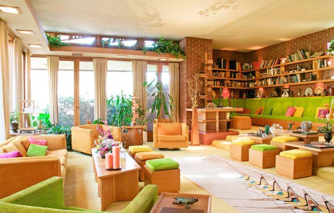 Frank Lloyd Wright's Samara -A Mid-century Modern Dream House (video) | http://www.designrulz.com/architecture/2013/01/frank-lloyd-wrights-samara-a-mid-century-modern-dream-house/