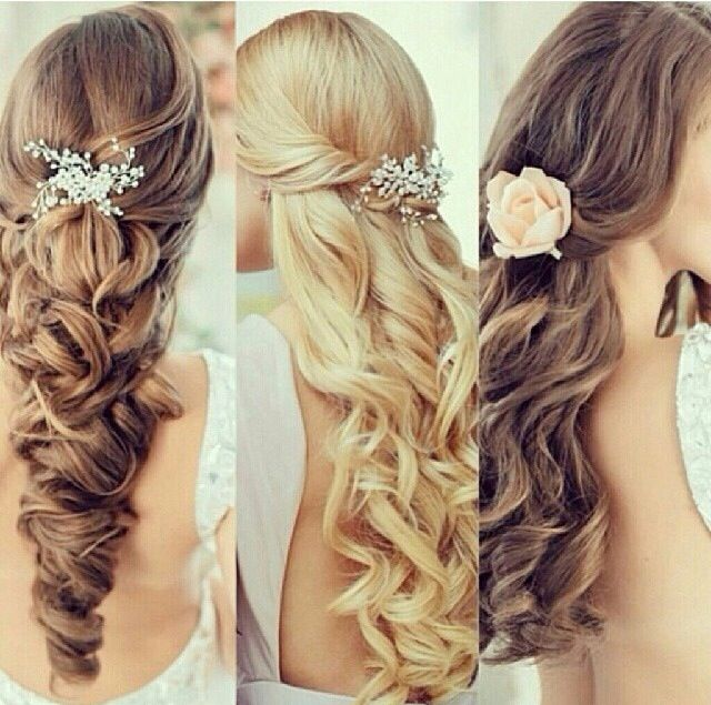 Love these hairstyles for like a wedding