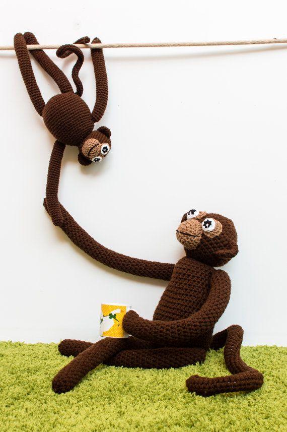 Crochet Monkey Pattern Amigurumi Monkey Pattern Crochet Toy etsy monkey business