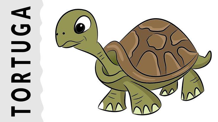 Cómo dibujar una Tortuga paso a paso con dibujart.com