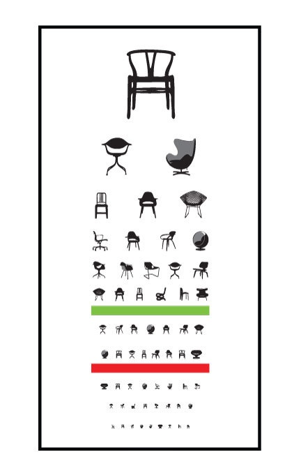 Eye chair exam by Blue Ant Studio