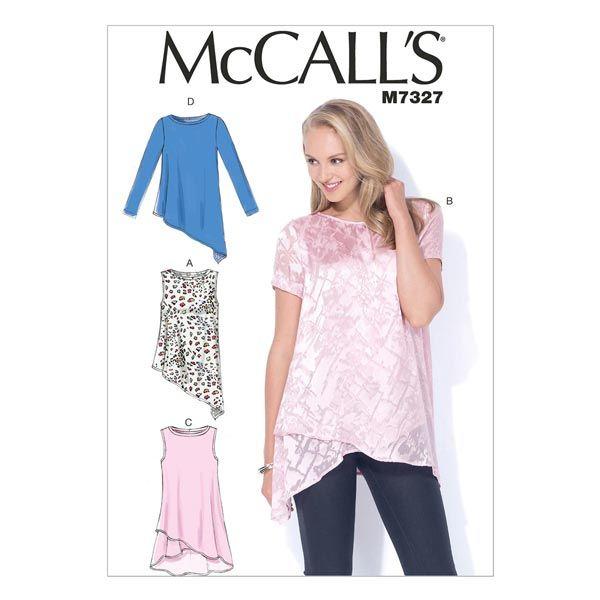 top, McCalls 7327   40 - 48