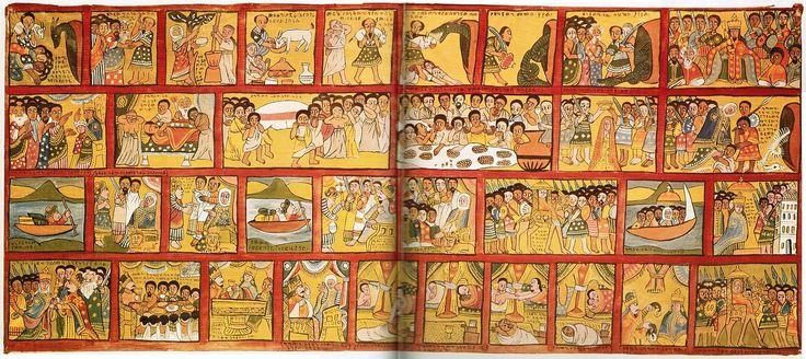 Historia de Salomón y la reina de Saba, siglos XVII-XIX.