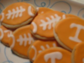 UT Football Cookies