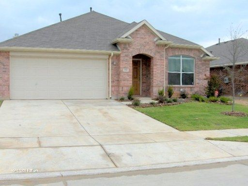 This home is Eagle Mountain Saginaw ISD. It comes with a formal dining a breakfast area. The breakfast area is in the rear of the home off the kitchen. The master is split from the other bedrooms. There is a nice garden tub with a separate stand up shower and double sinks in master. This community has playgrounds, 2 pools and a trail around the entire community for walking or running. Online apps only www.classicpm.com Go to leasing & mgmt. tab. Must choose a property for app to show. ...