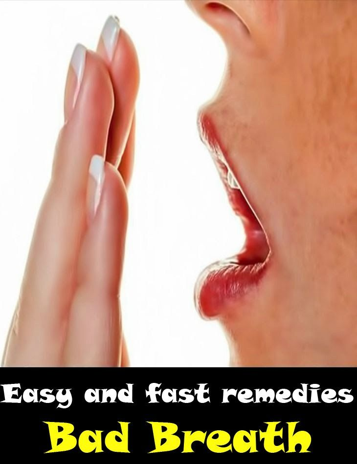 Easy tips to avoid bad breath