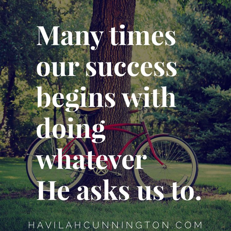 "DAY 6 – Success vs Failure. Havilah Cunnington's ""I Do Hard Things"" Bible Study"