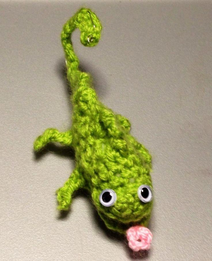 Amigurumi Chameleon : amigurumi chameleon crochet Pinterest