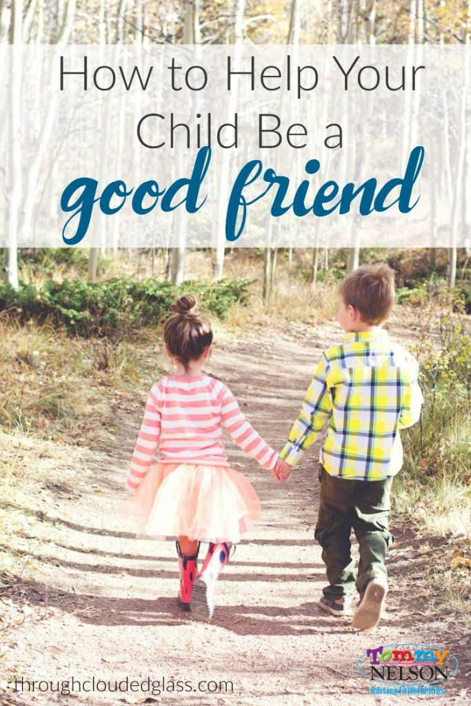 How to help your child be a good friend - plus memory verses about friendship!