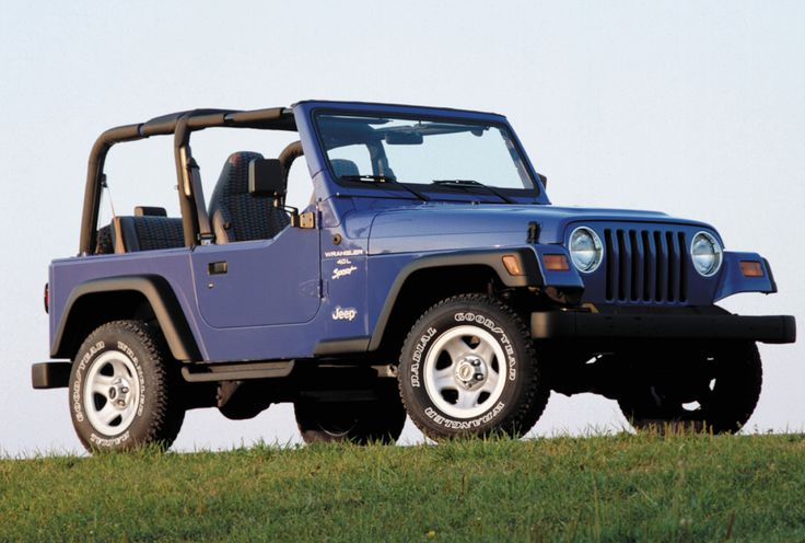 Jeep Wrangler Sport (TJ) '19972006 1997 jeep wrangler