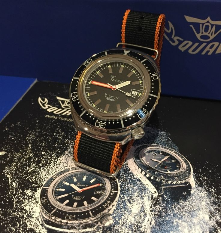 Squale 2002 Collection 1000 Meter Automatic Dive Watch