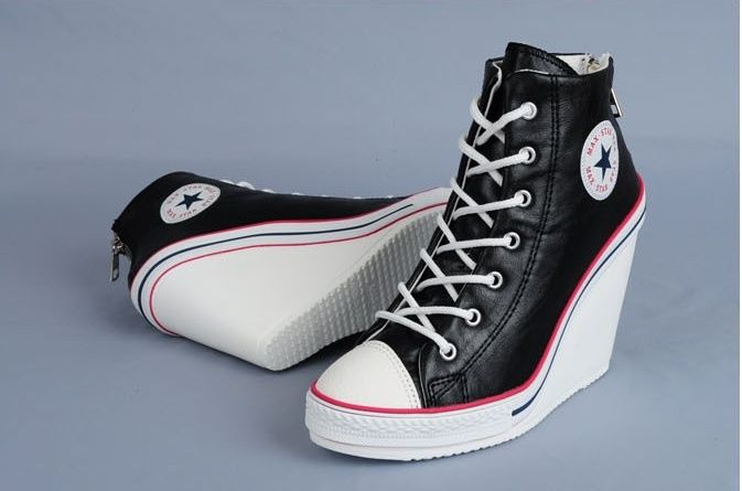 Our women's high heel sneakers are big hits for going to the movies or heading to the juice bar after a workout. Whether you want high top sneakers or wedge sneakers, browse our shoes online. Enjoy our women's sneaker heels from cute, comfortable tennis shoes to women's high heel sneakers.