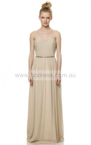 A-line Sweetheart Empire Sleeveless Floor-length Evening Dresses zeh010--Hodress