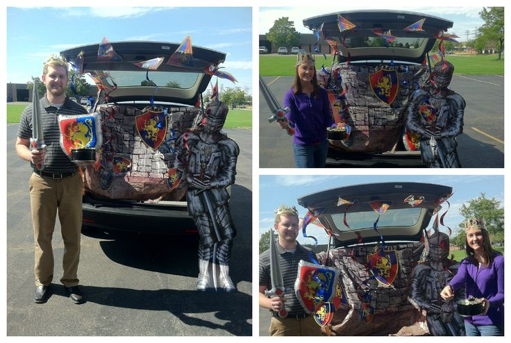30 best trunk or treat ideas images on Pinterest Halloween prop - decorate your car for halloween