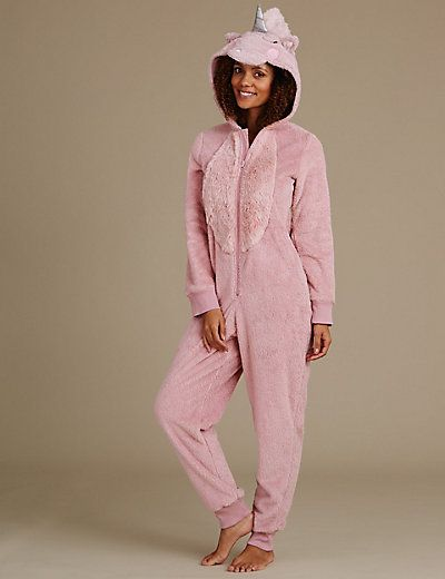 Long Sleeve Unicorn Onesie | M&S