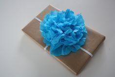 howto bloem van crêpe papier