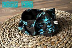 Loop-Schal mit Grössenangaben für Kinder und Erwachsene