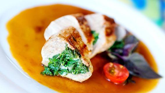 Filet de porc laqué à l'érable faible en gras et ses légumes rôtis