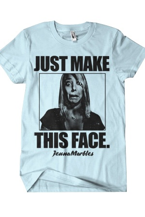I love Jenna Marbles. :)Fashion, Style, Jennamarbles, Clothing, The Face, Jenna Marbles, Face White, T Shirts, So Funny